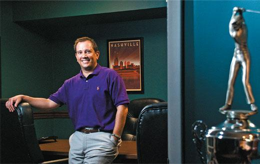 Chris Patterson, GolfTourneys.com, as featured in the Nashville Business Journal